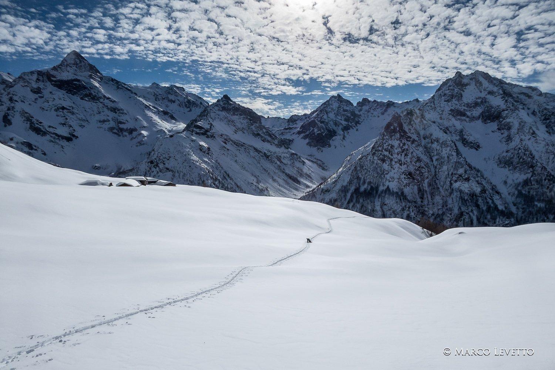 appena oltre l'Alpe Luseney
