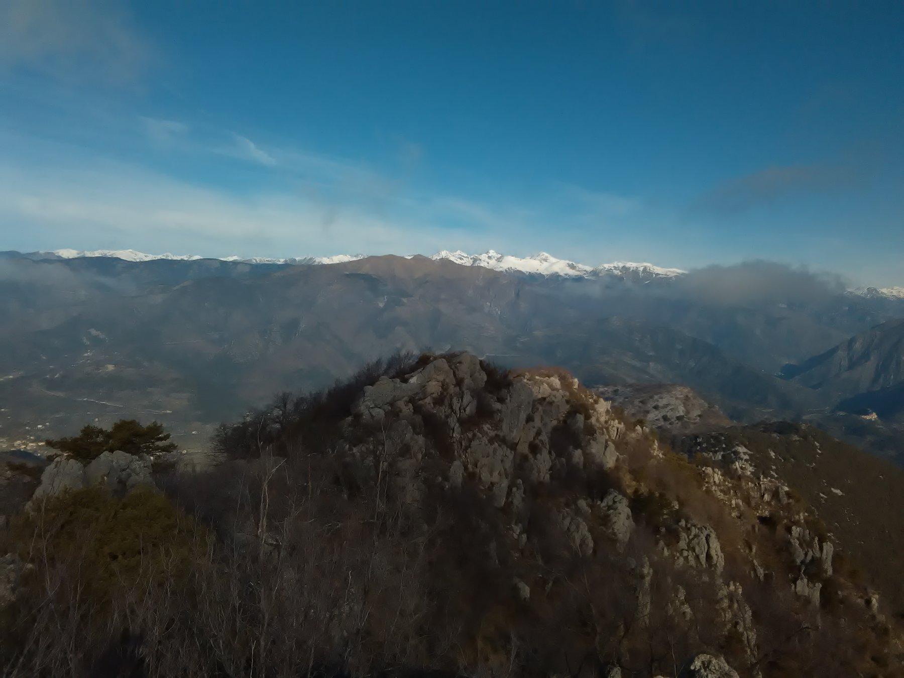 Alpi Marittime dalla cima