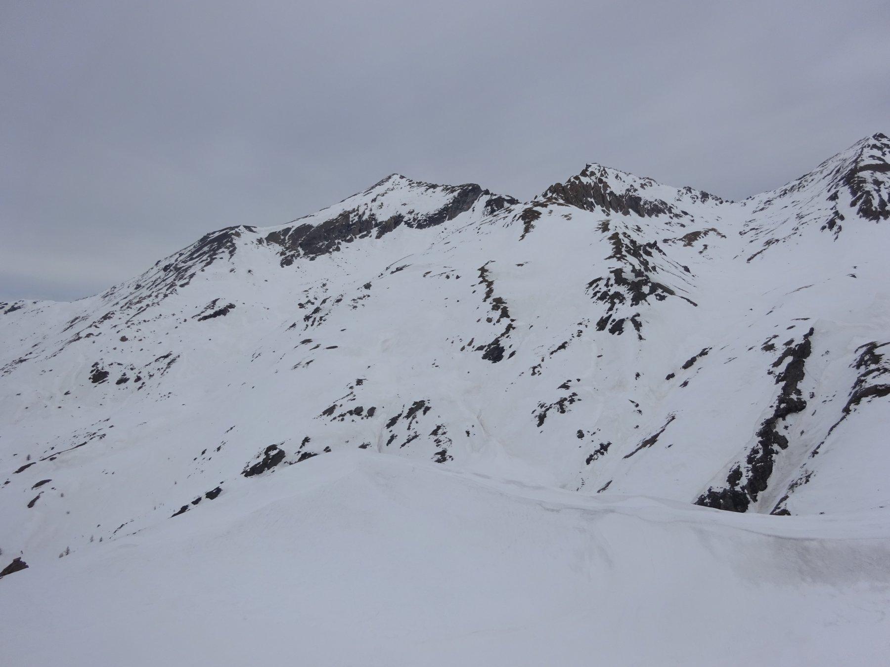 Monte Giornalet - Monte Platasse - Rocce del Ruit