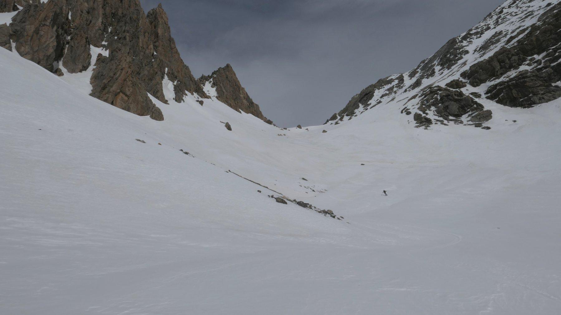 scendendo dal Col de Portiola