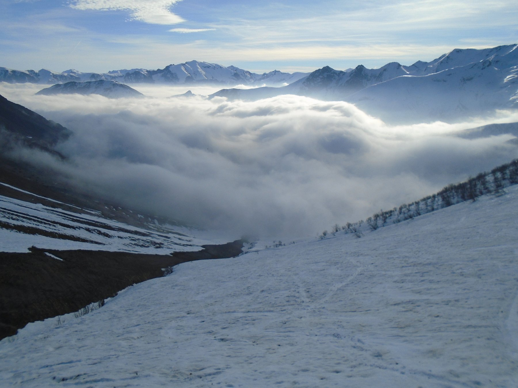 Nebbia in basso