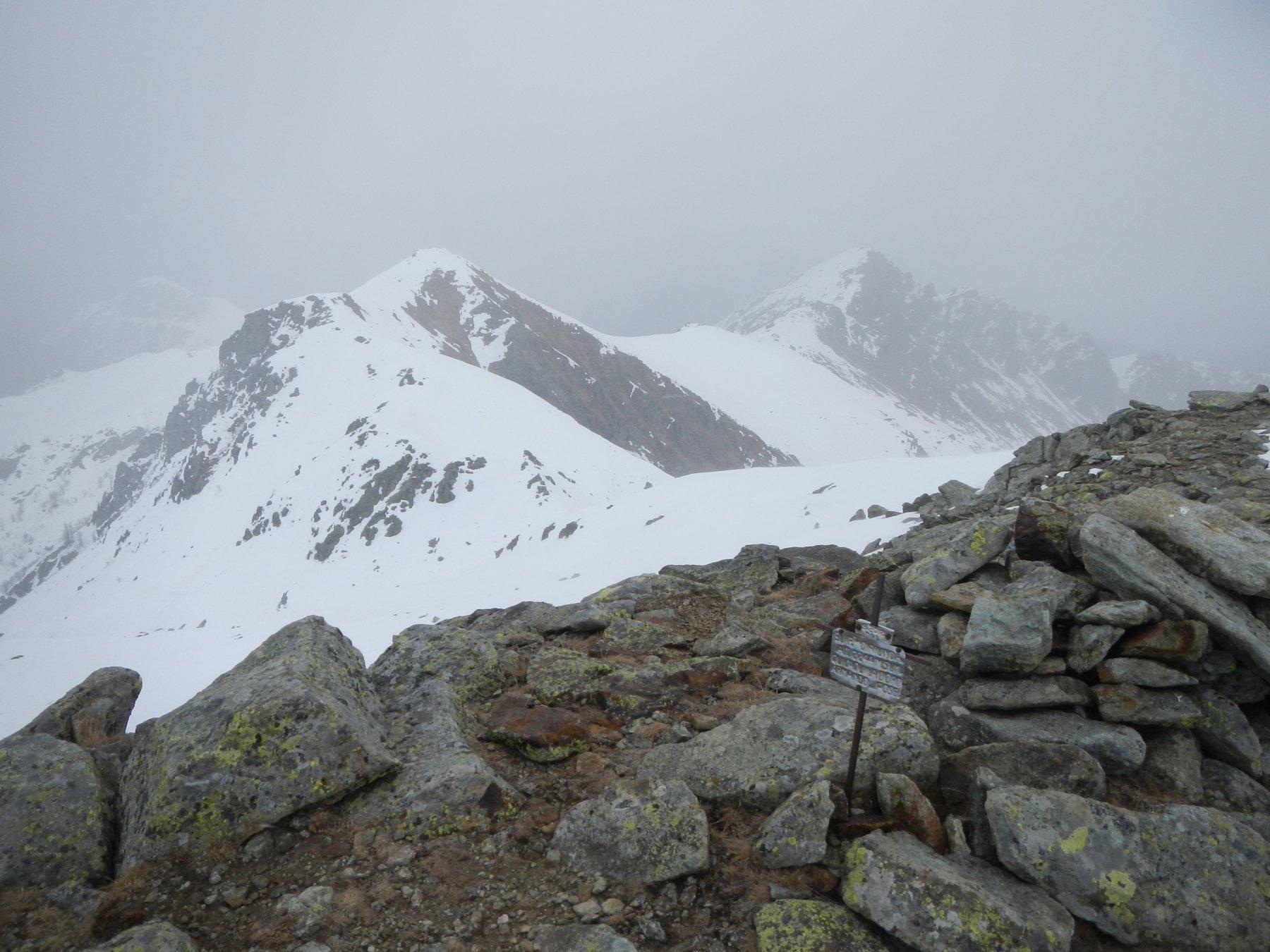 dalla cima verso il Monte Marmottere