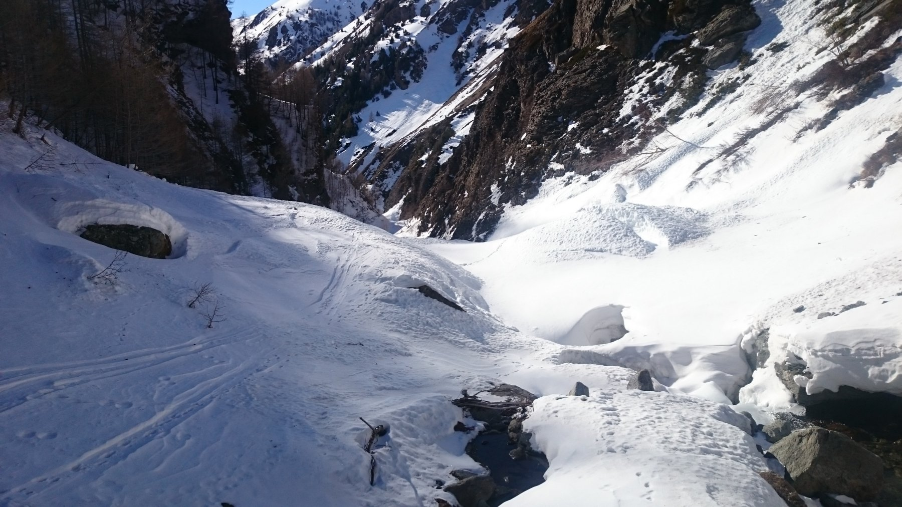 Nel canyon finale