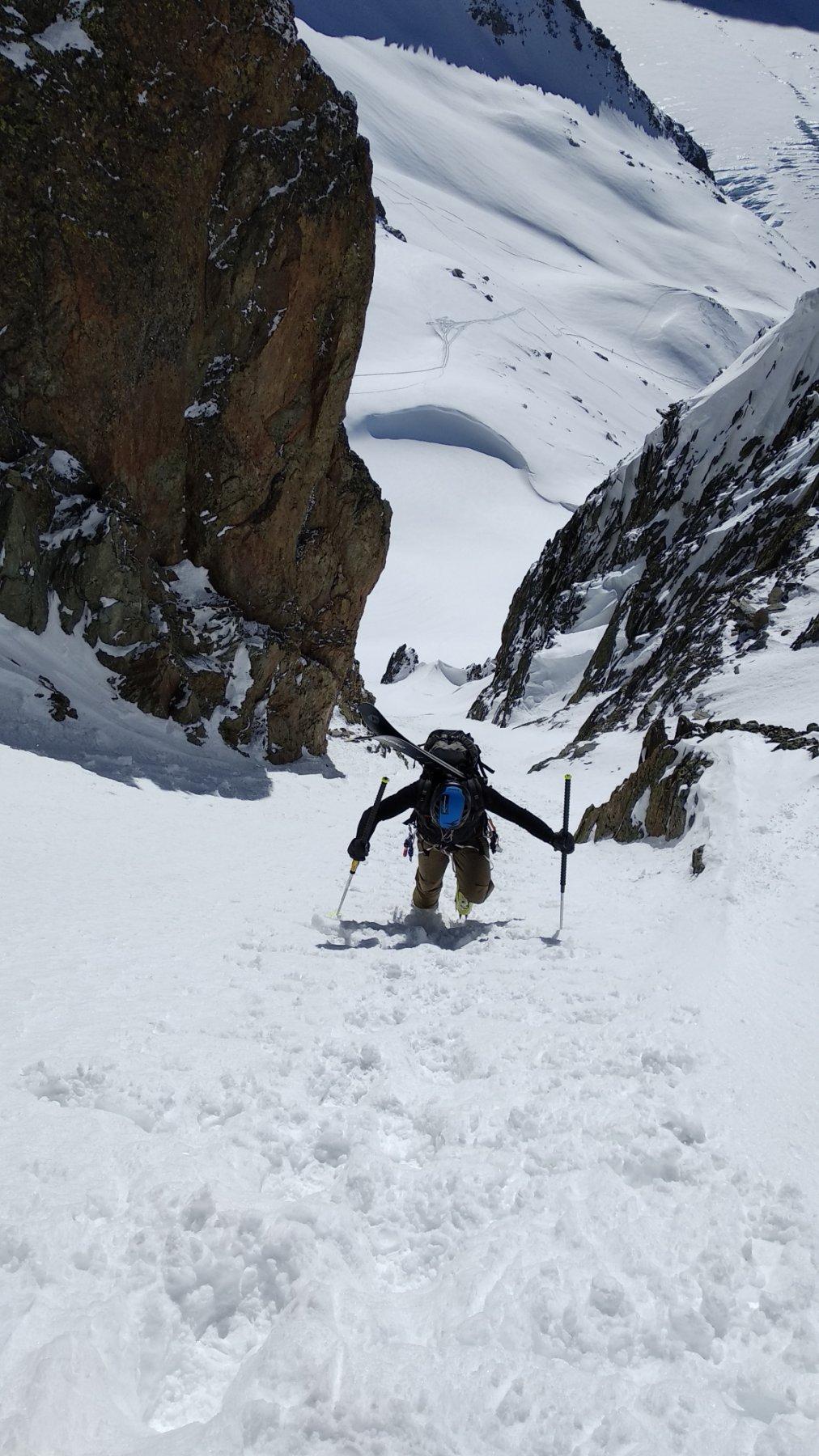 Passon (Col du)da Argentière, traversata a Le Tour 2020-02-20