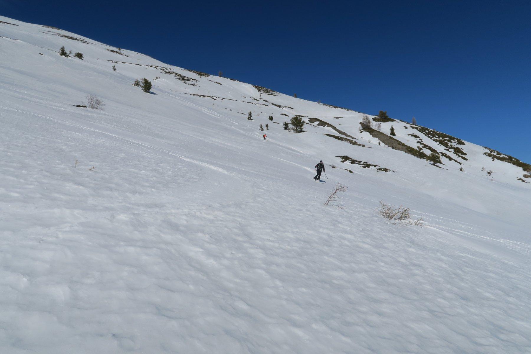neve primaverile sopra Vetan