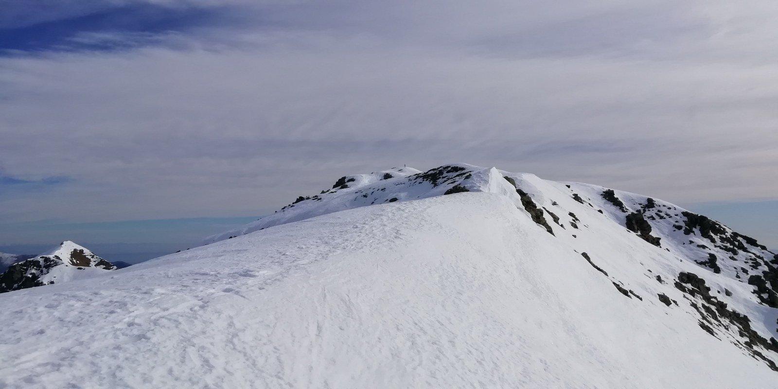 La cresta del Ciriunda