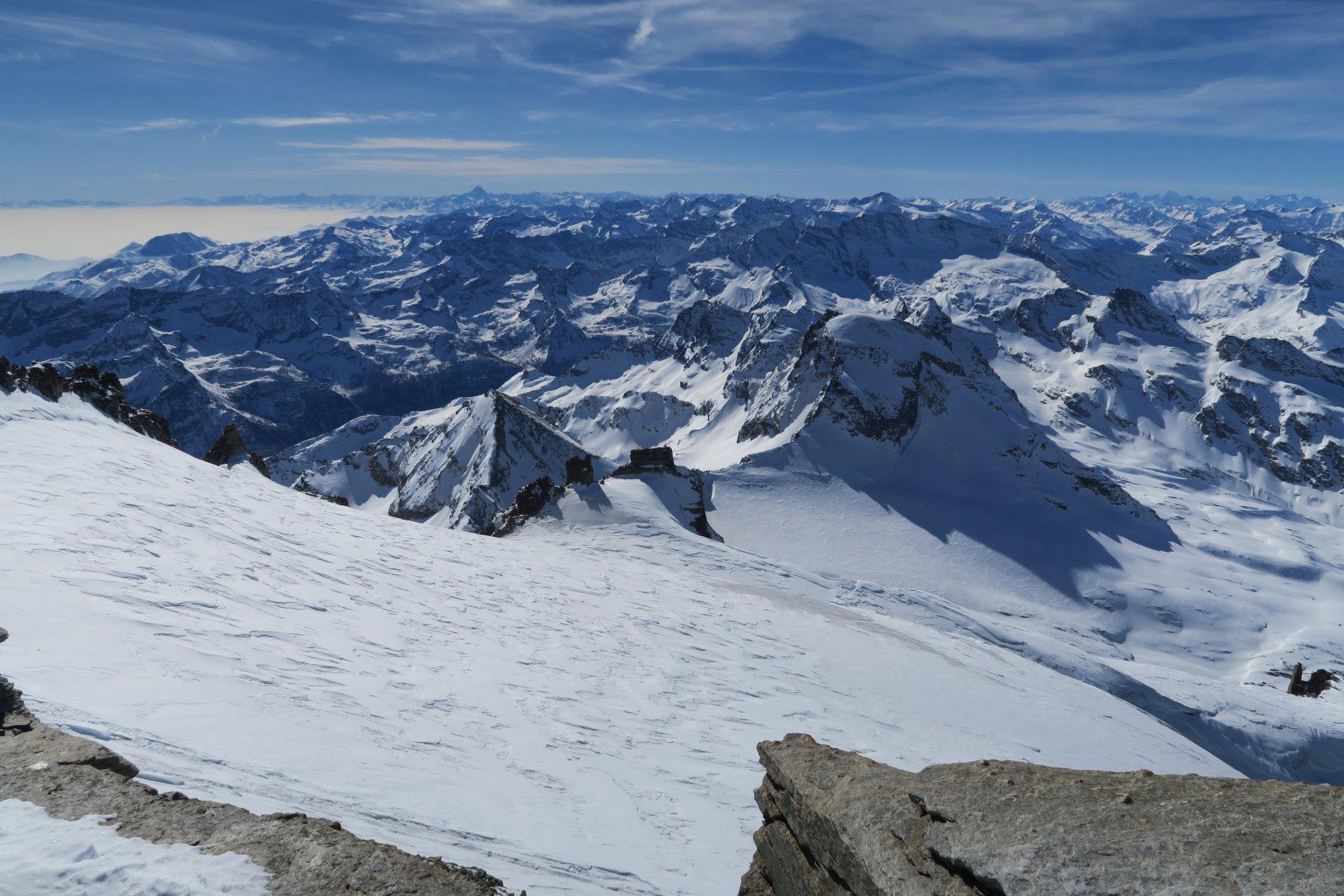 condizioni parte alta del ghiacciaio