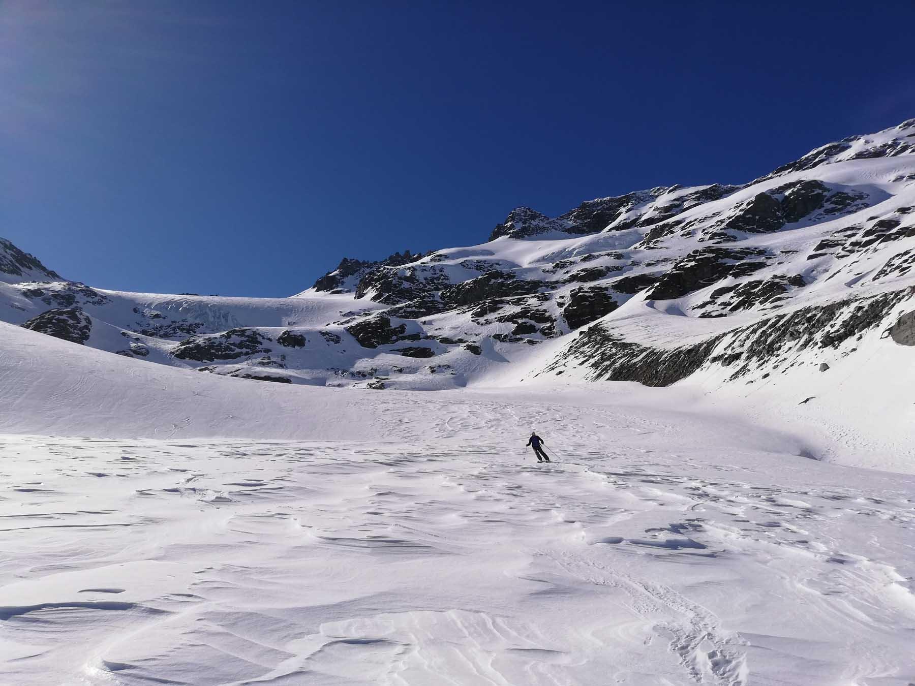 Sul Glacier de la Mahure