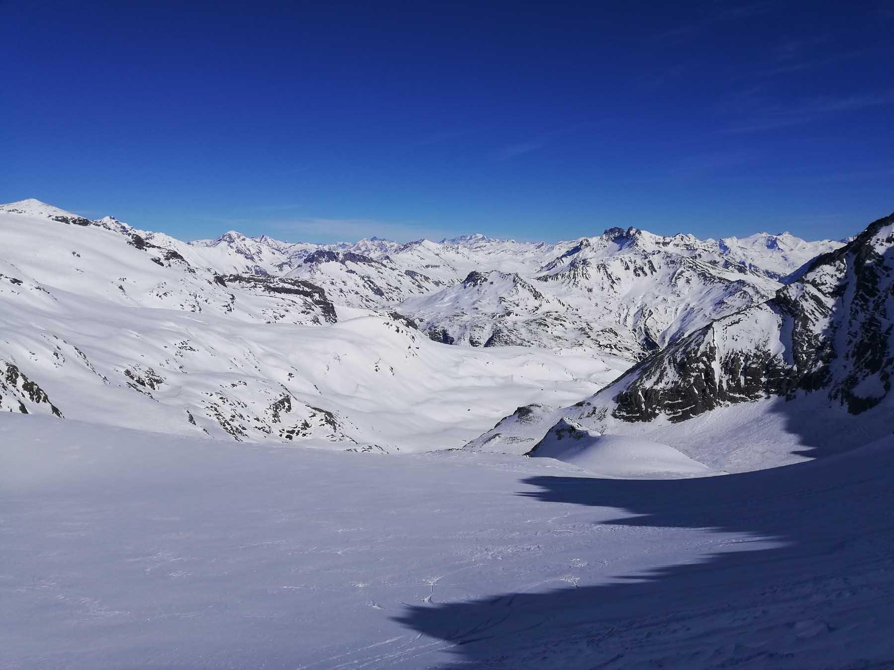 Il Glacier de la Mahure da scendere