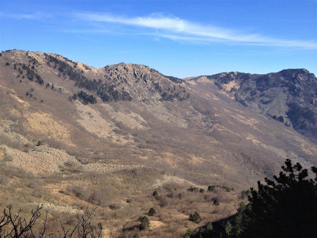 A dx il monte Argentea