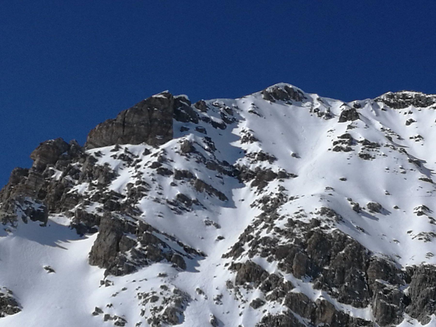 Vallonasso (Monte) Parete Canale E 2020-02-22