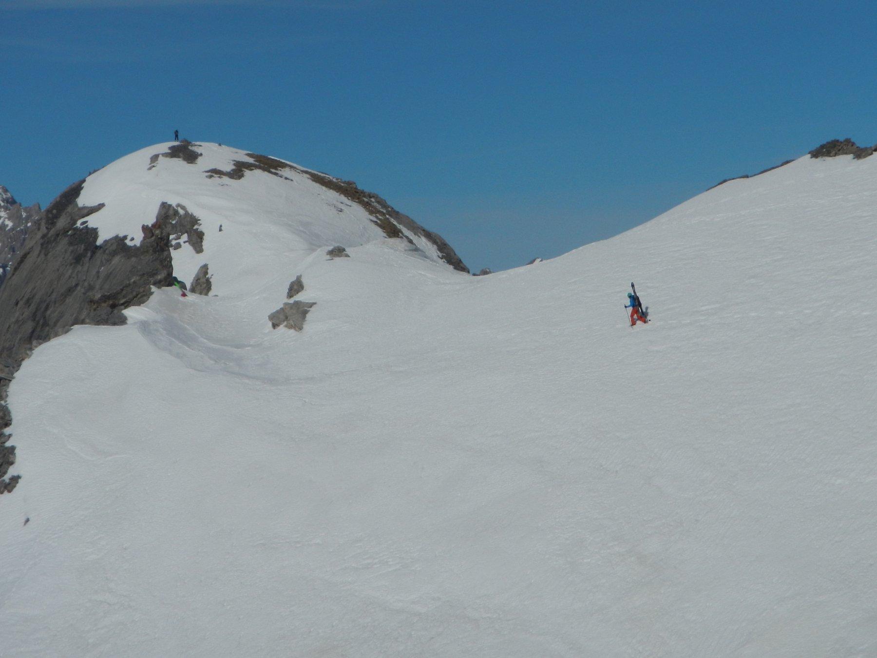 verso la cima alpinistica