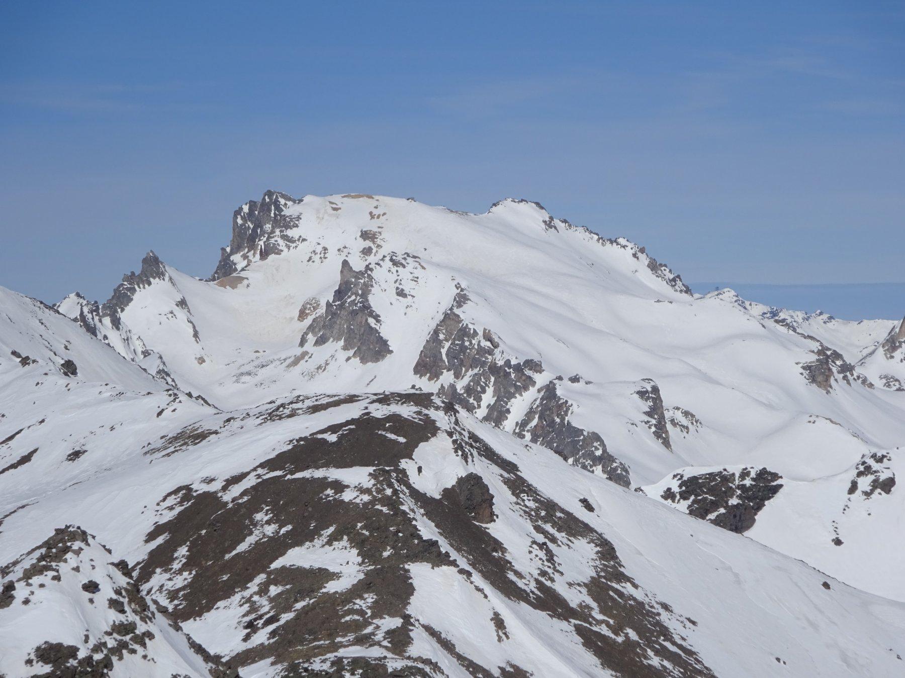 Monte Thabor dalla Montagne de Challange