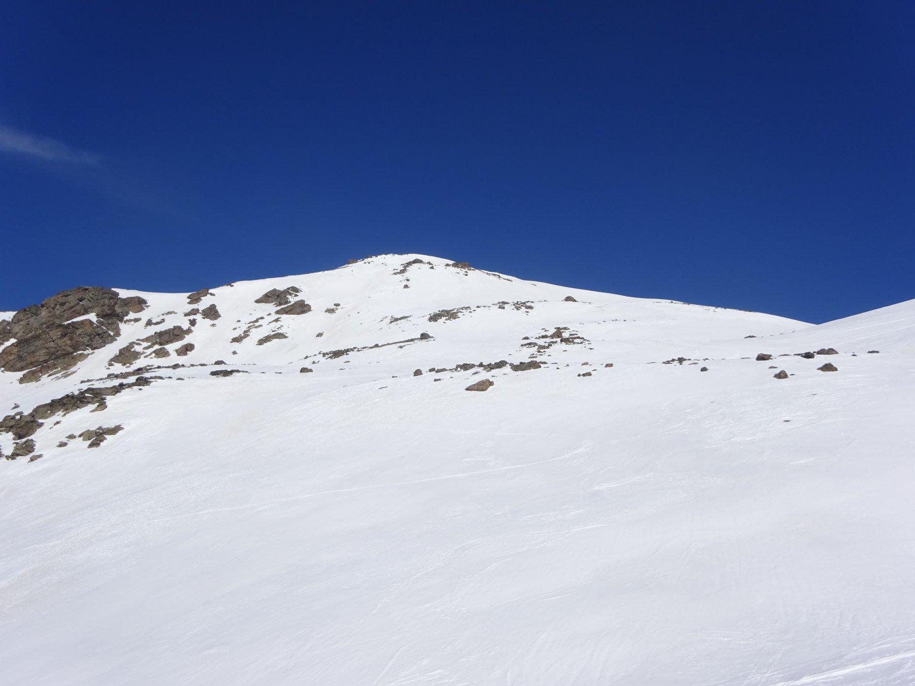 Montagne de Challange dal colle quota 2.704