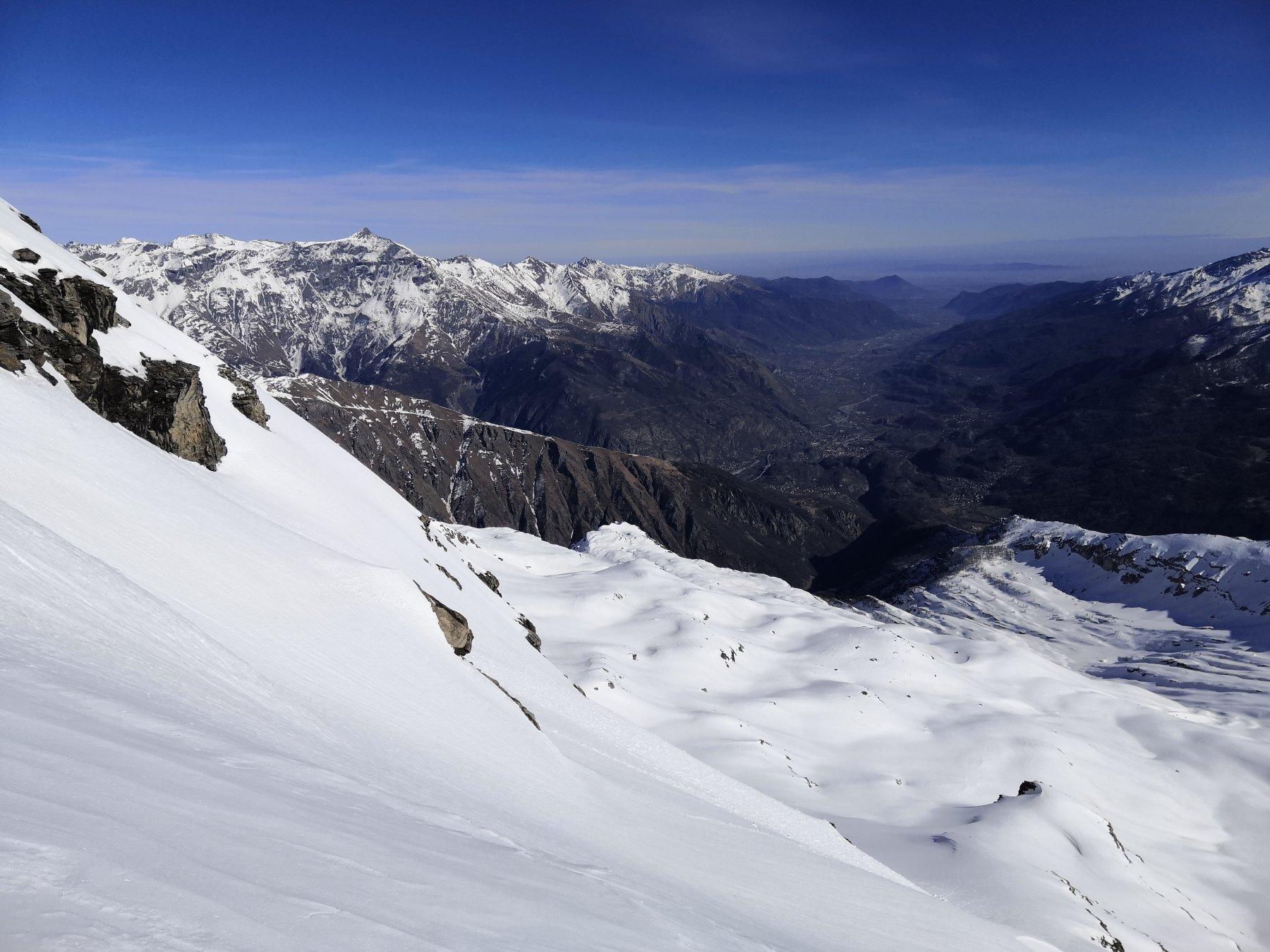 Gran vista sull Sacra e Torino...