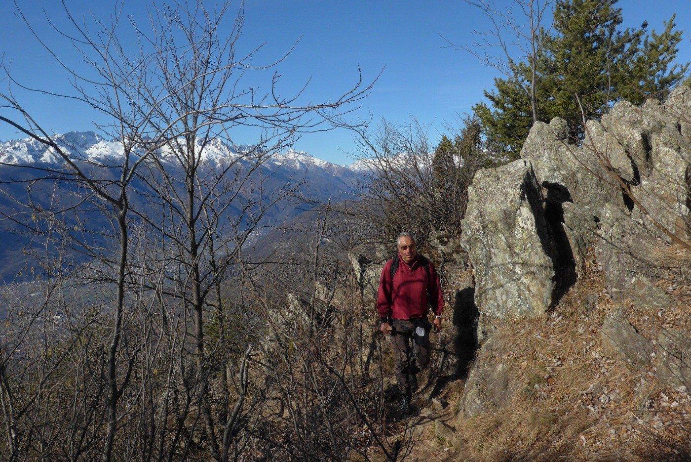 Salendo sul Tramontana
