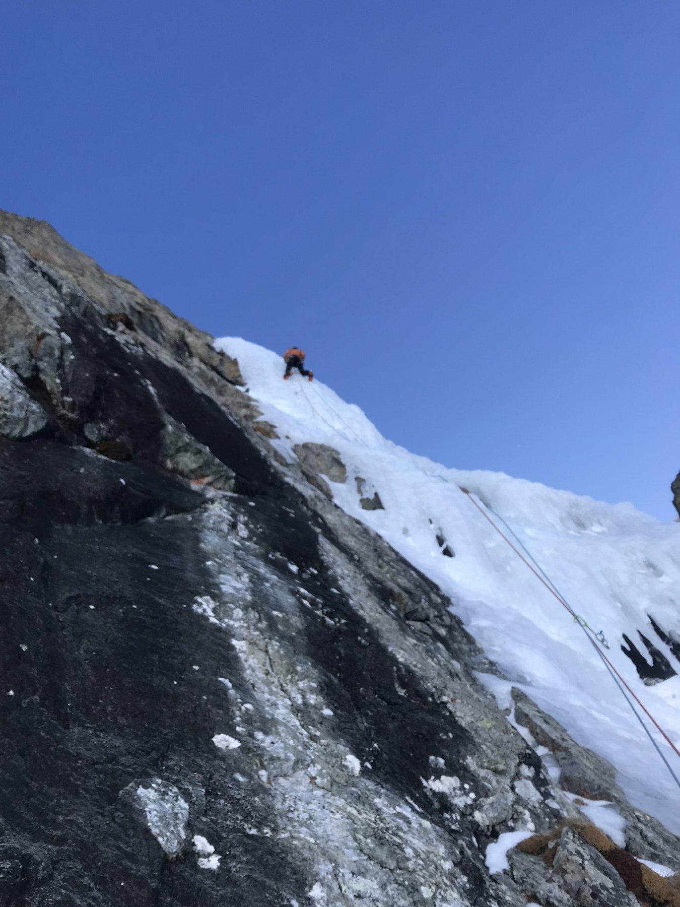 Chianale Corona On-Ice (Cascata) 2020-02-28