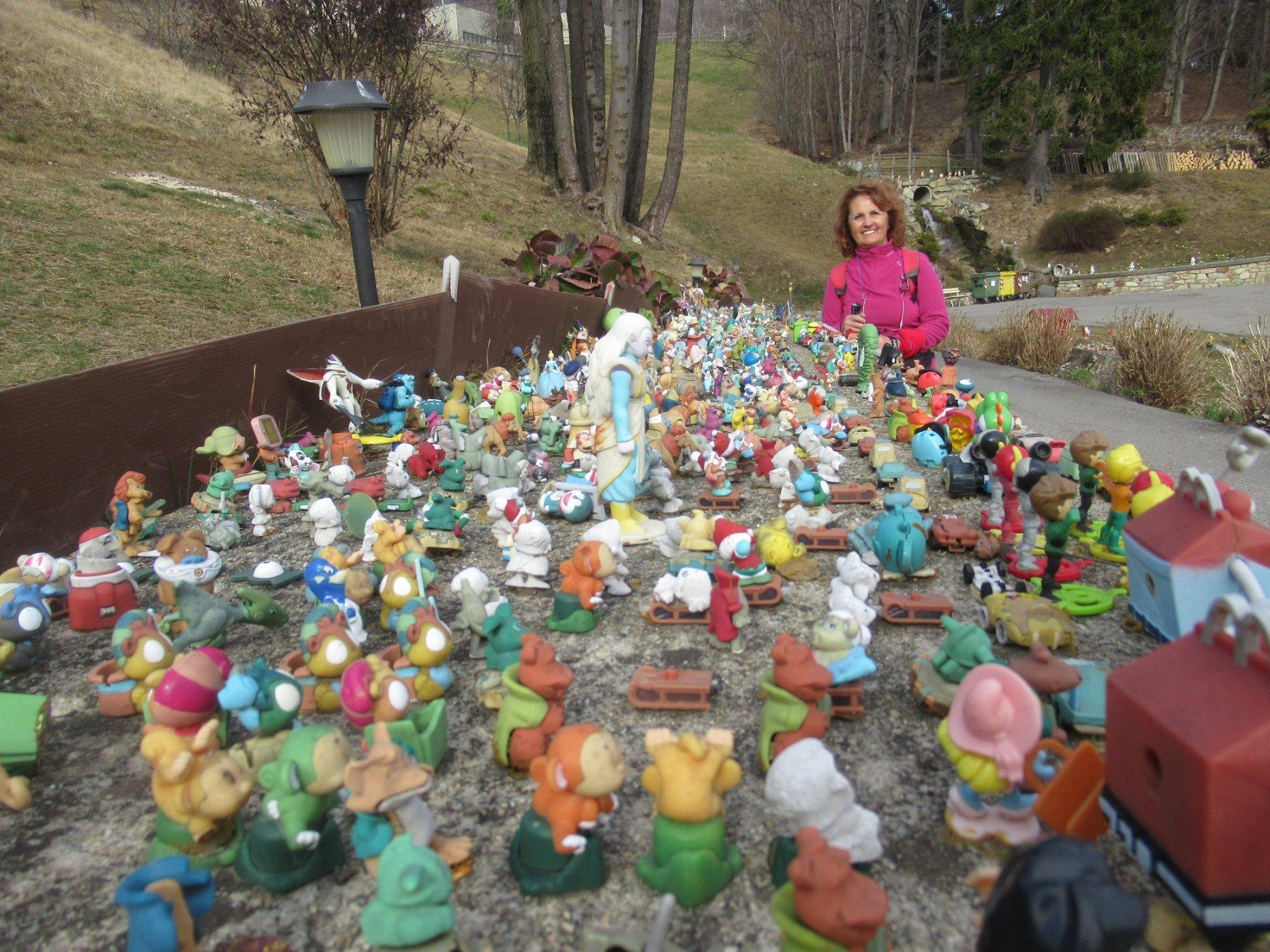 particolare collezione nei pressi del Santuario