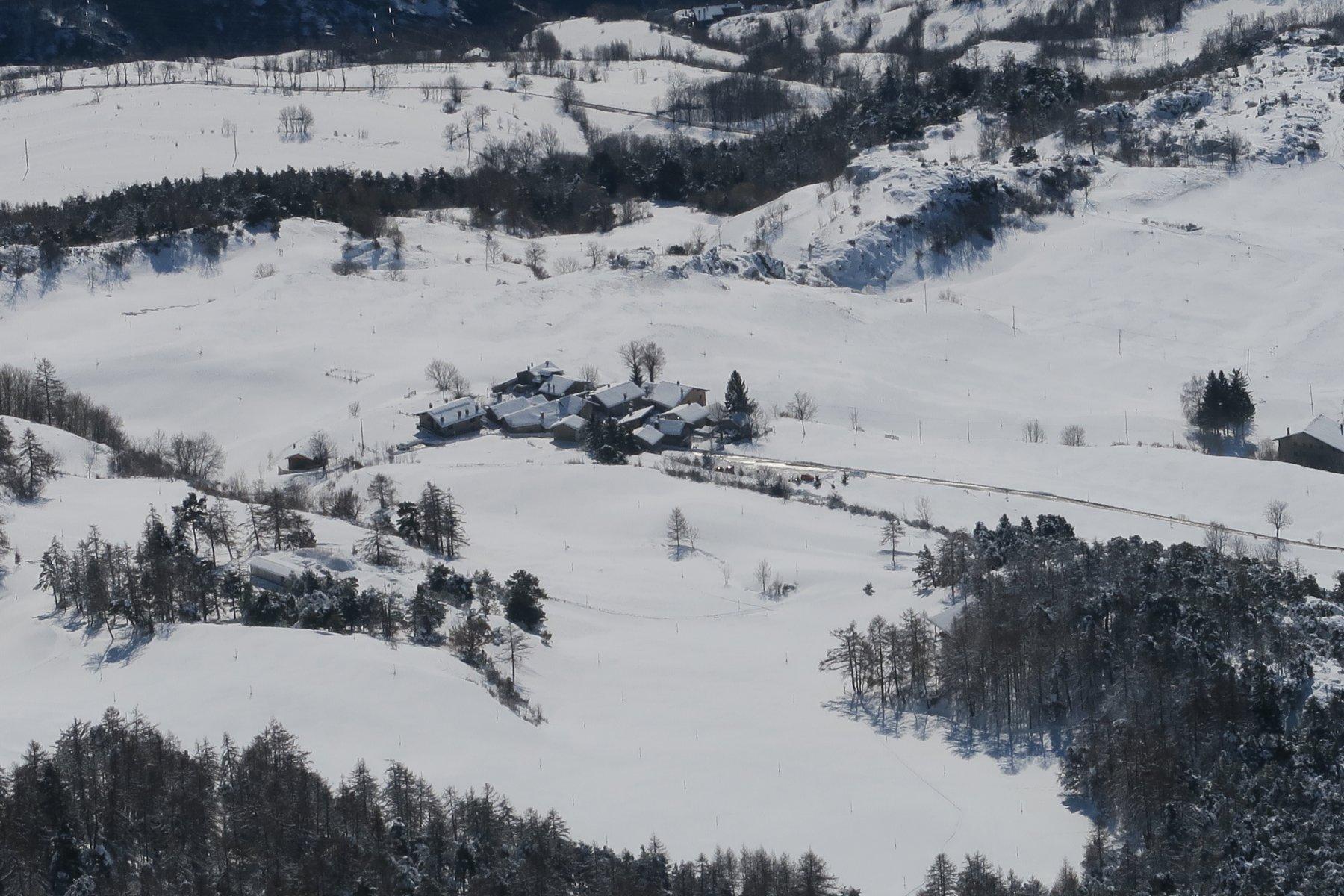 il villaggio di partenza
