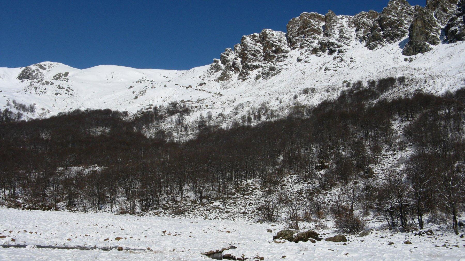 Monte Marmottere e Rocca Moross
