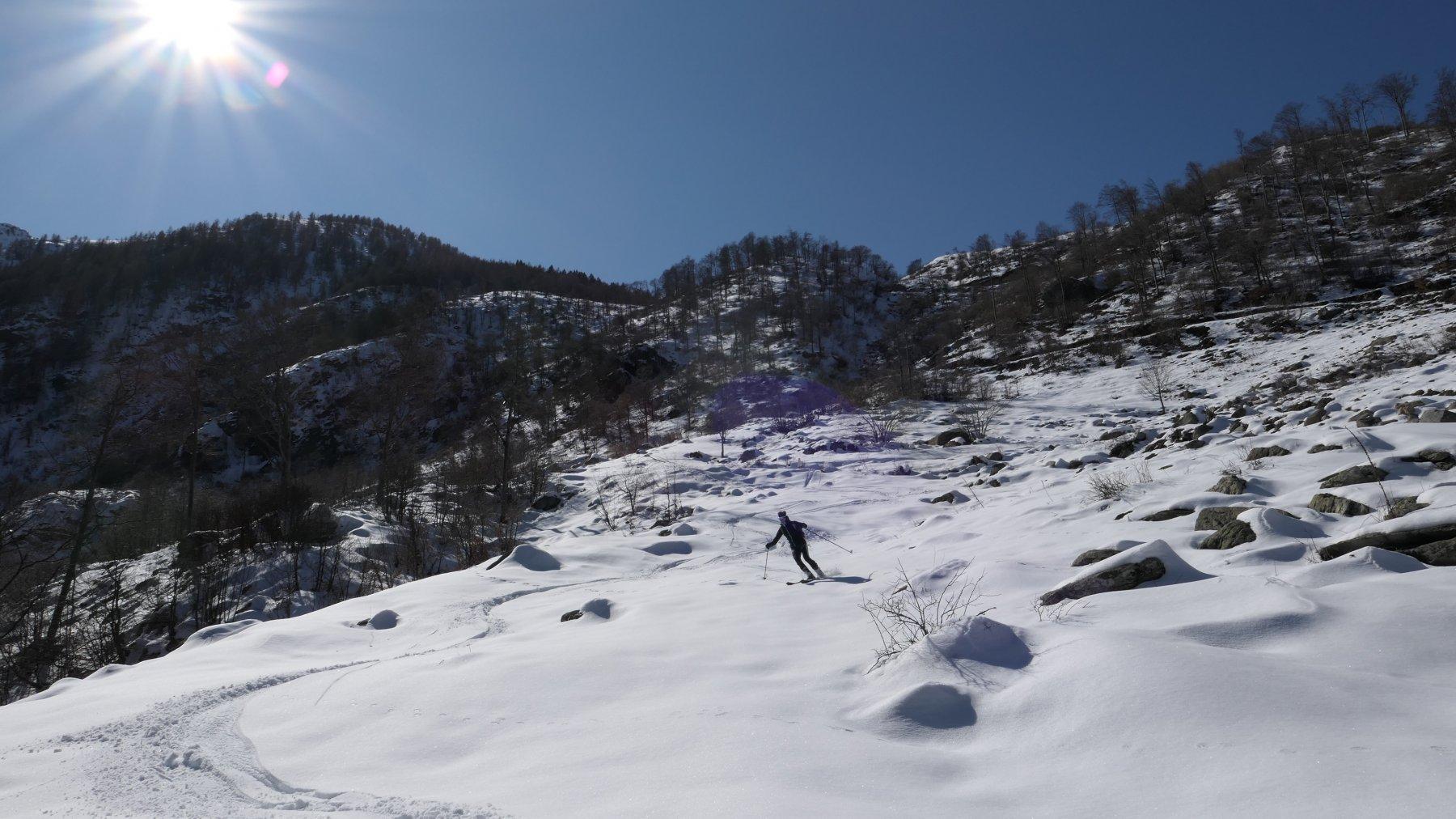 quota m.1400 ,qui neve al limite