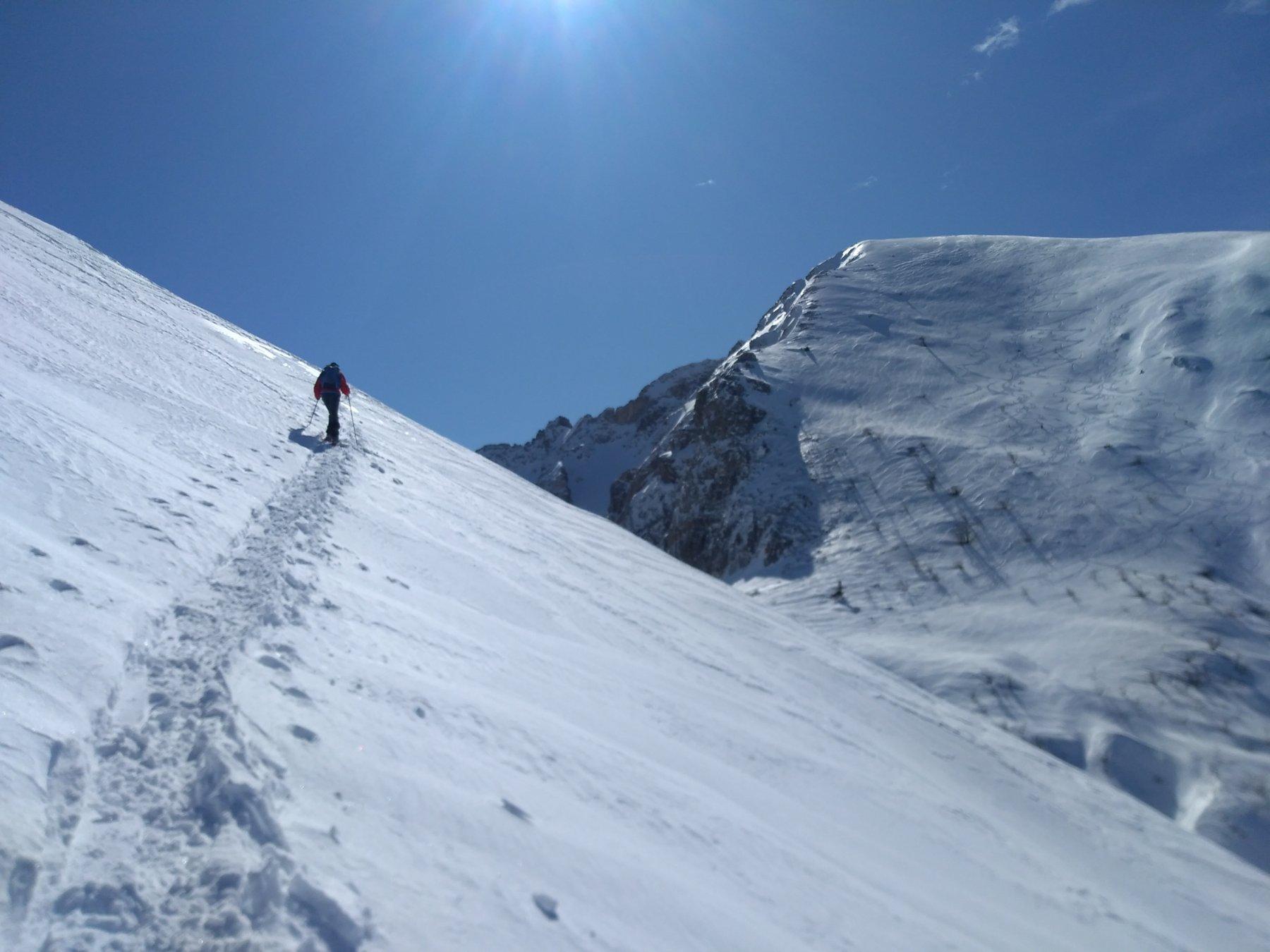 Grosso (Monte) da Colla di Casotto e il Monte Mussiglione 2020-03-07