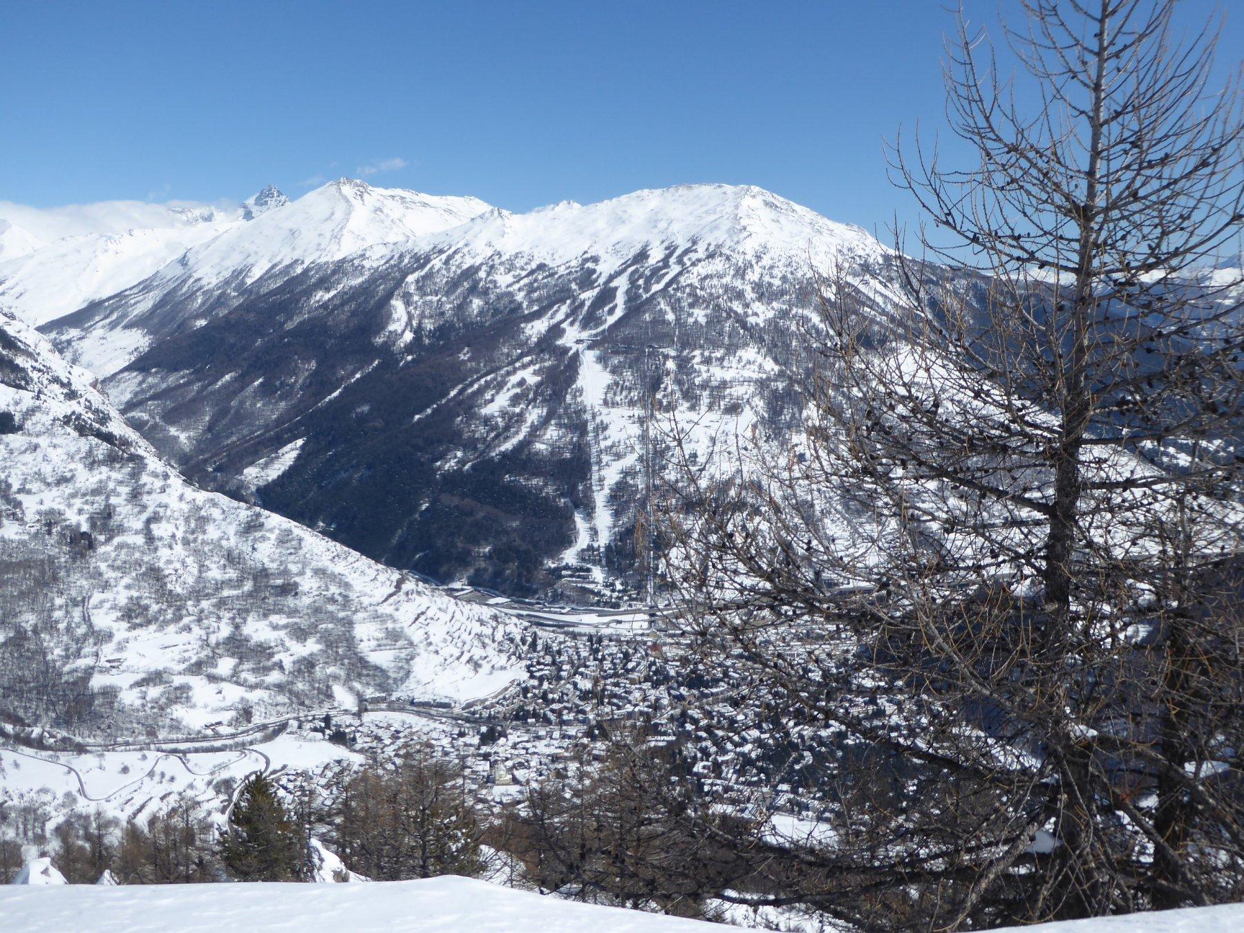 Jafferau e Bardonecchia dalla cima