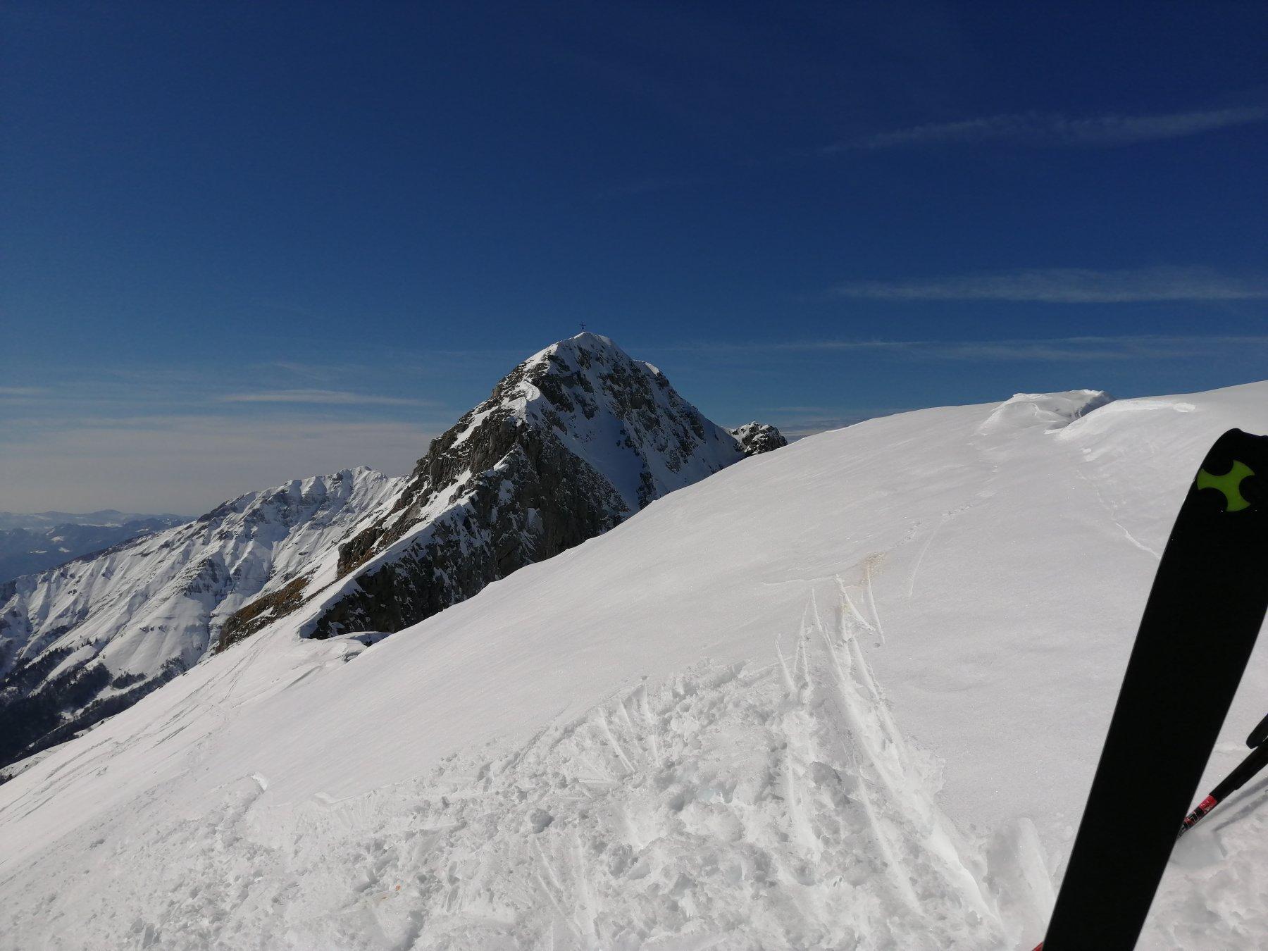 Cresta e cima principale