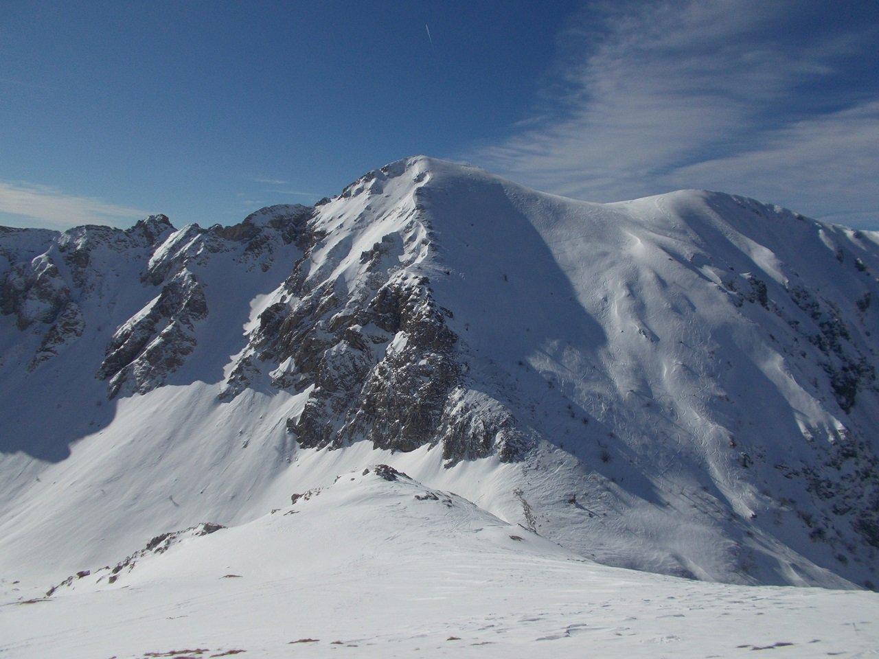 Monte Antoroto visto dalla cima del M.Grosso