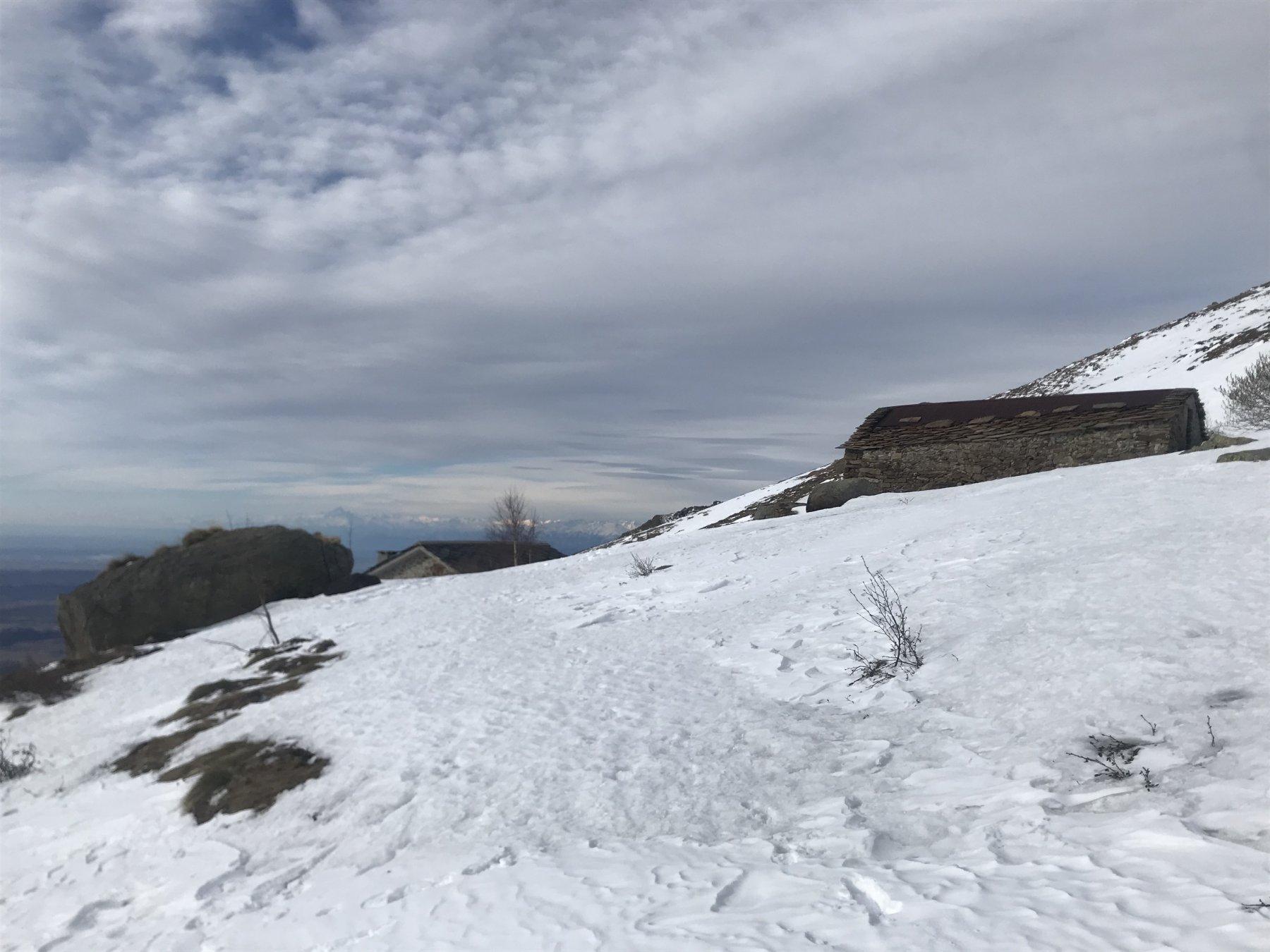 Alpe Meia inizia la neve