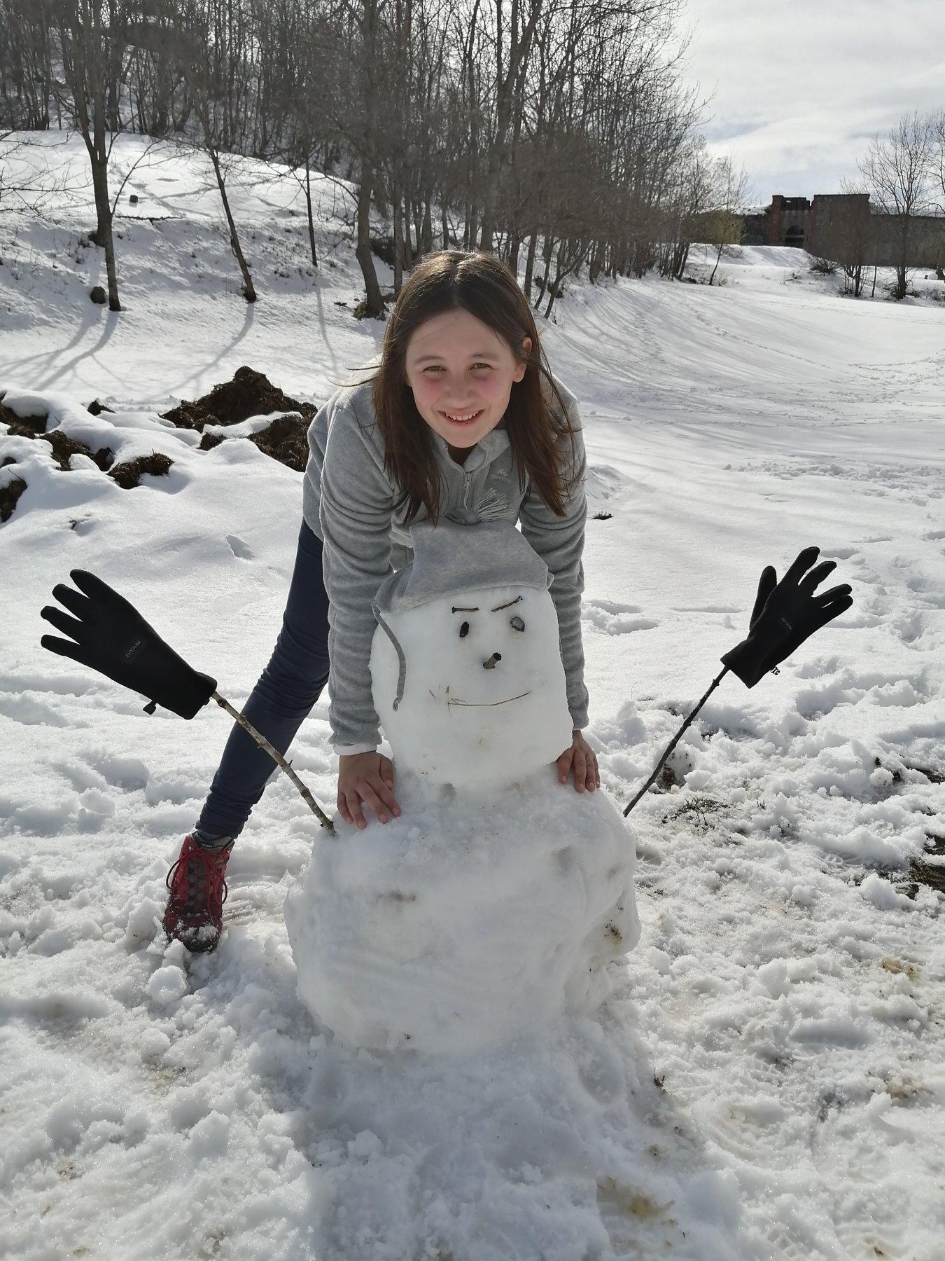 Maga col suo Olaf