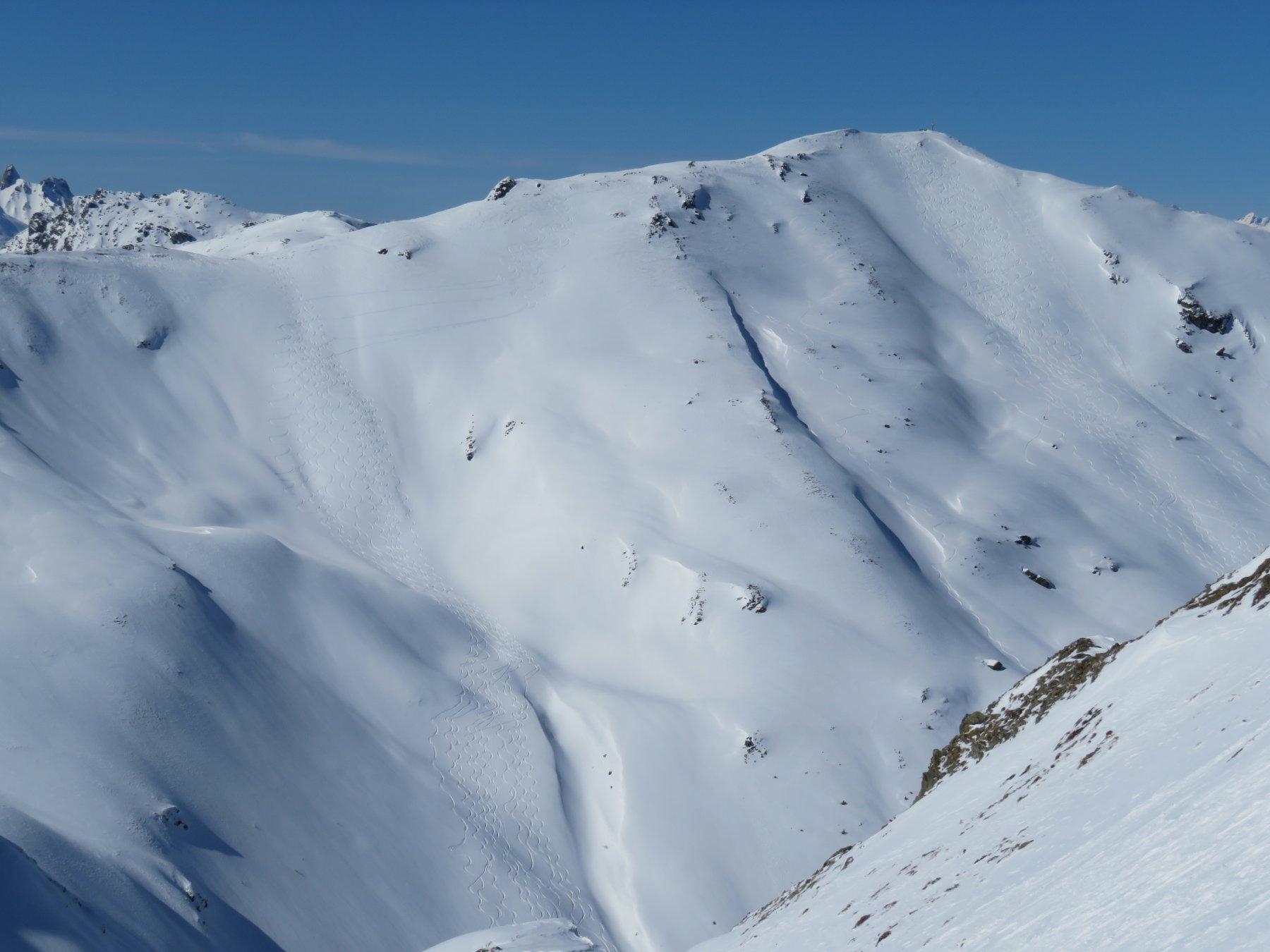Reiterkarspitze (o Monte Cecido) da Winkl 2020-03-08