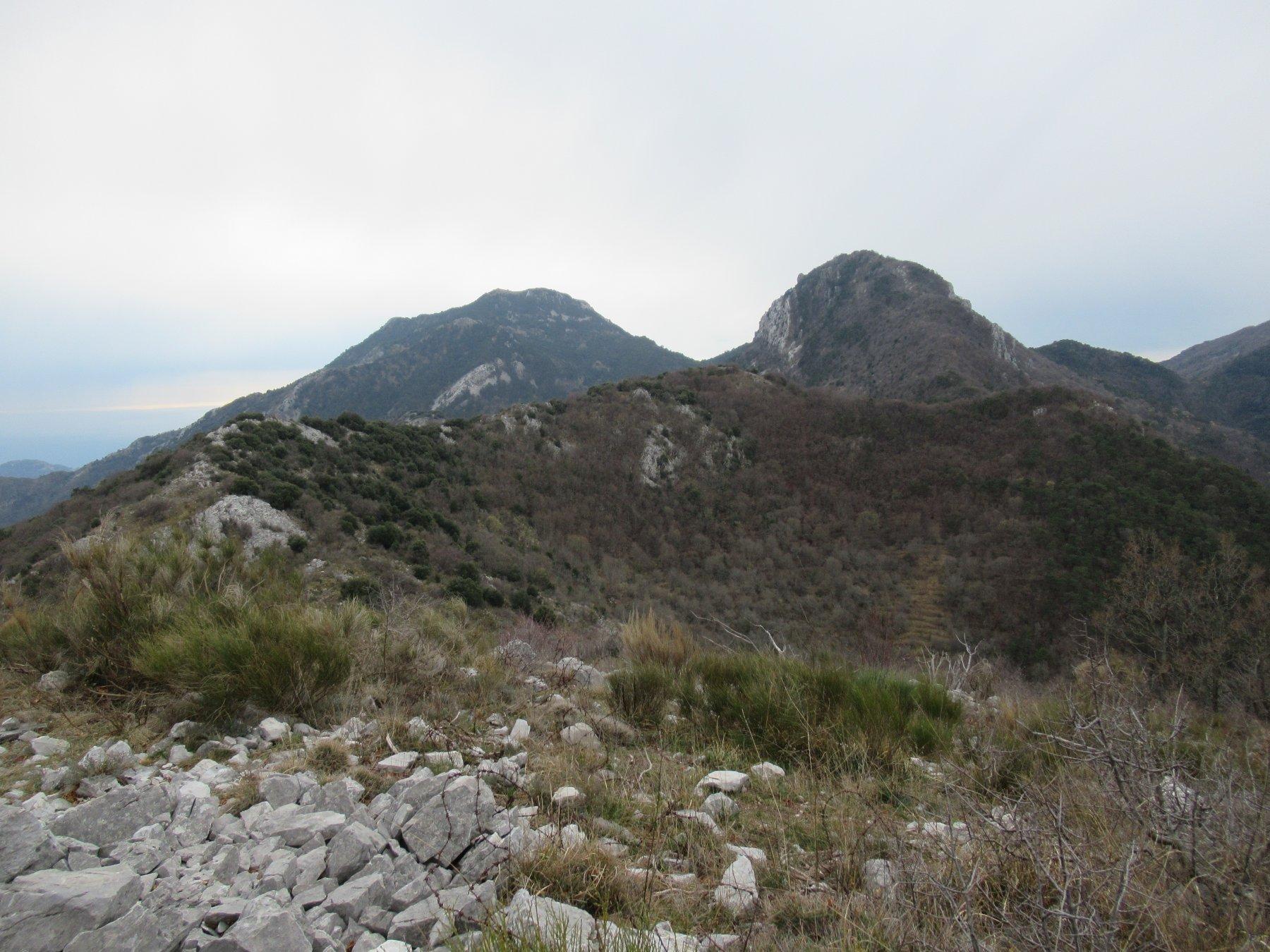 Grammondo (Monte) da Olivetta San Michele, anello per Sospel, le Cuore e Col du Razet 2020-03-09