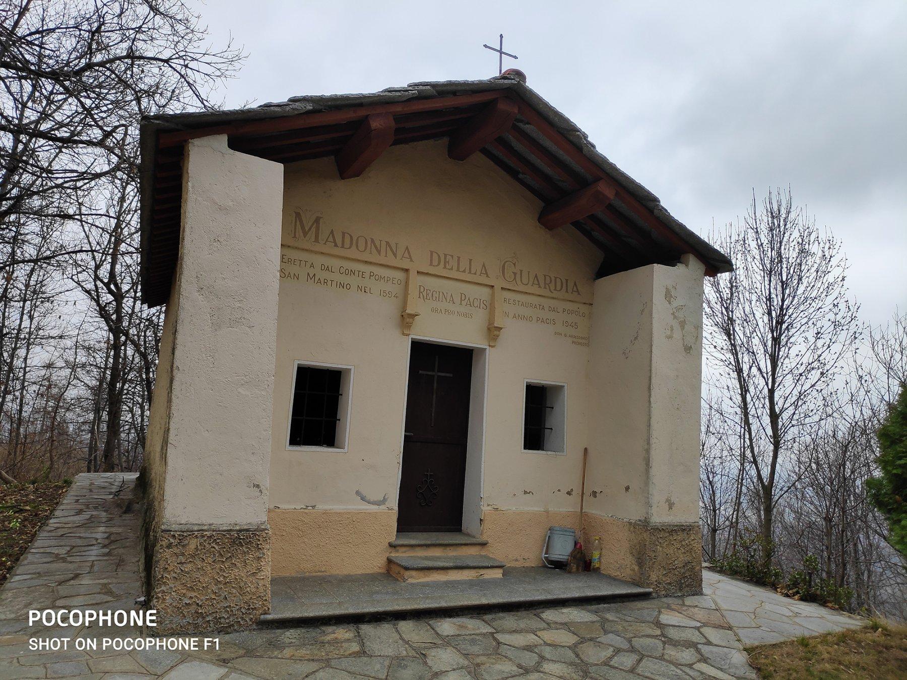 la chiesa Madonna della Guardia