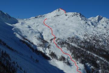 La parte alta del percorso   I   La partie haute du parcours   I   The top part of the itinerary   I   Der obere Streckenabschnitt   I   La parte alta del recorrido