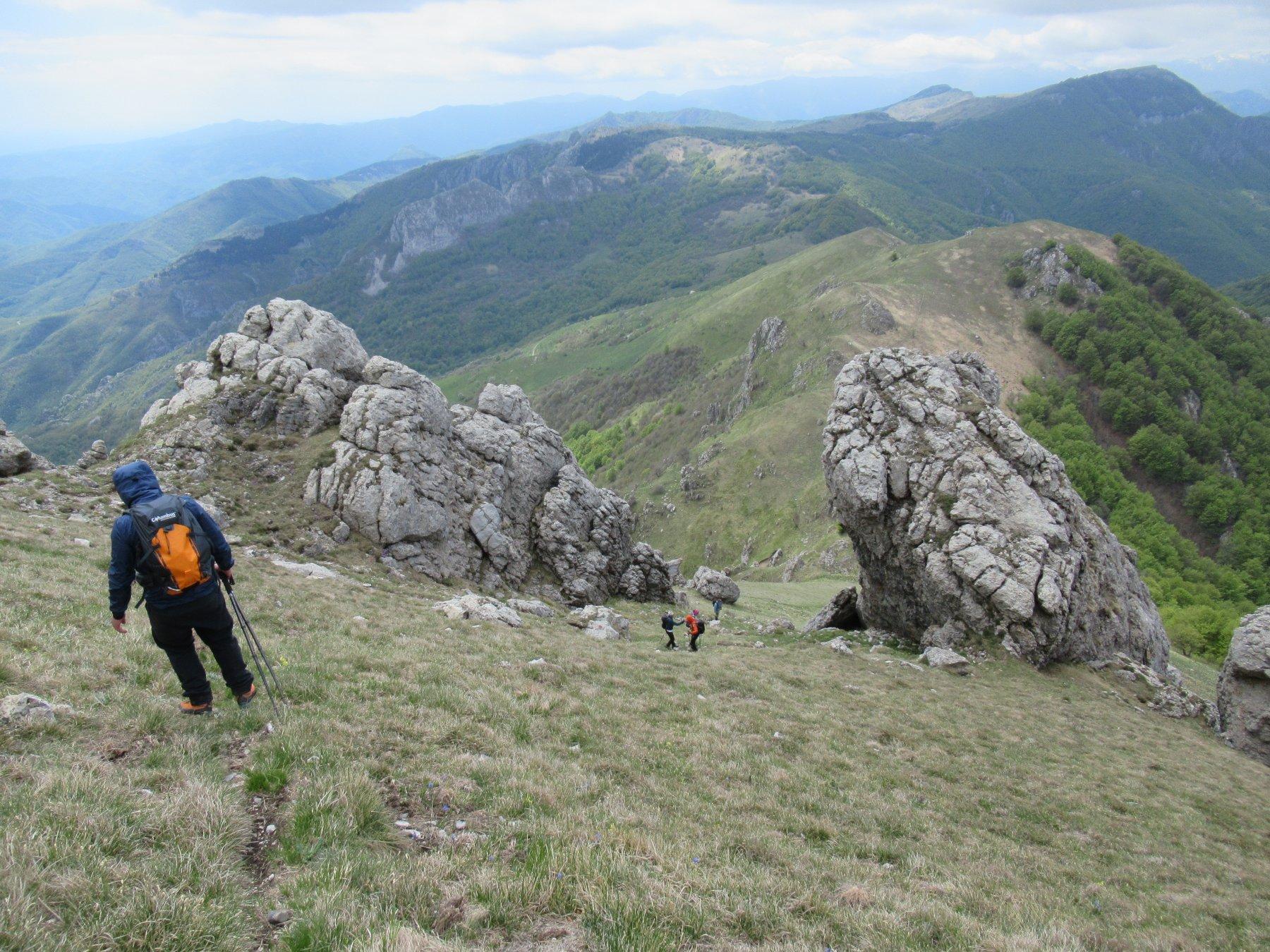 Galero (Monte) da Nasino, anello per il Passo delle Caranche 2020-05-04
