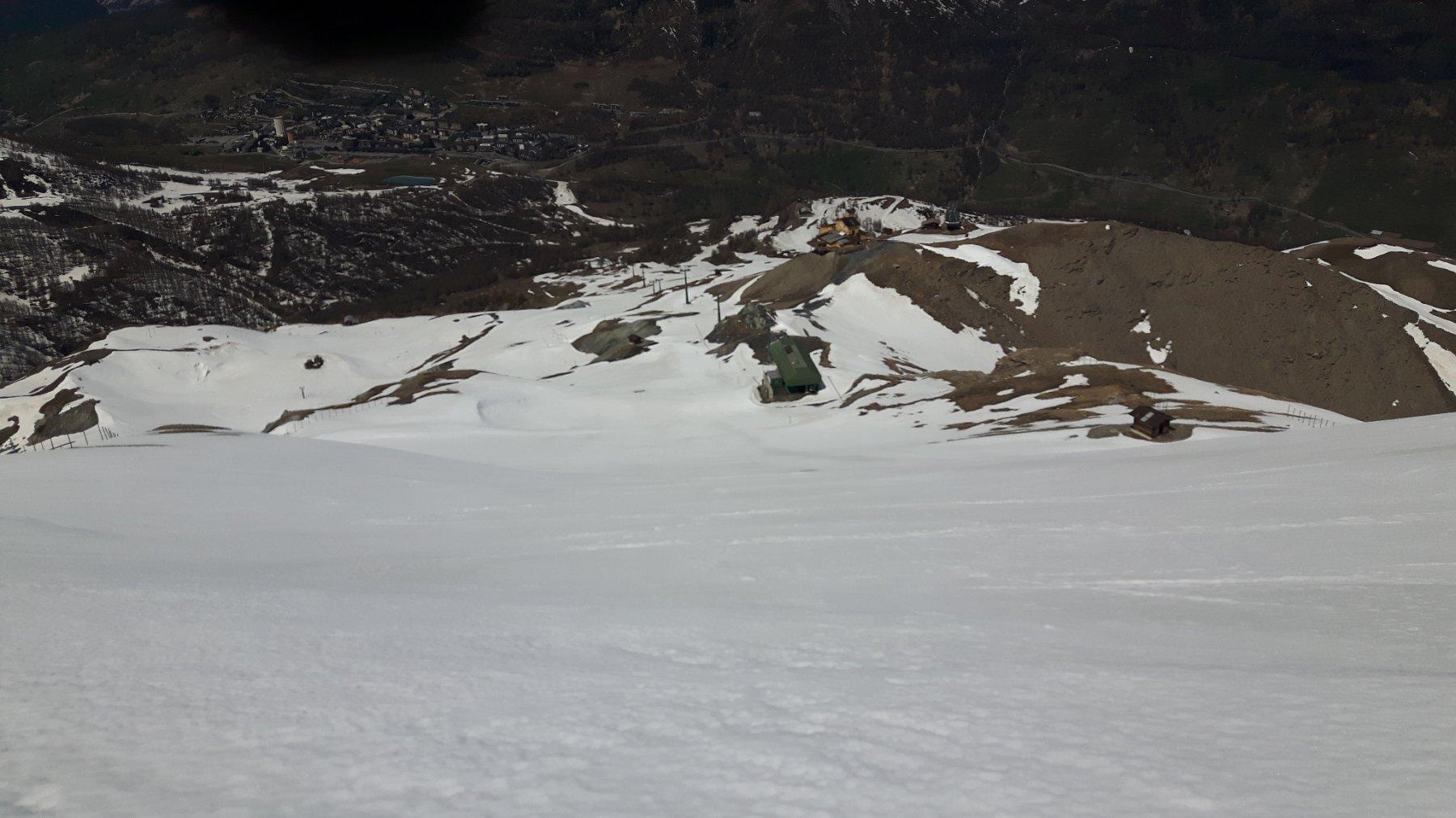 Vista dal Motta verso valle