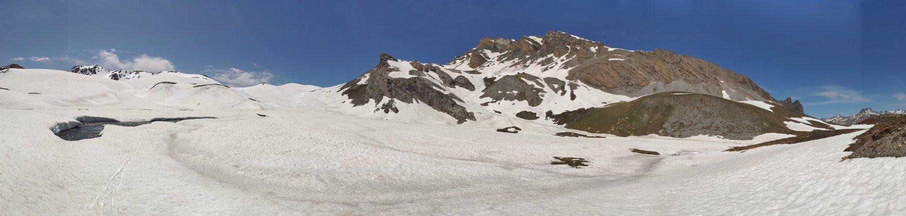 5. Panoramica sulla parte alta del Vallone di Puriac