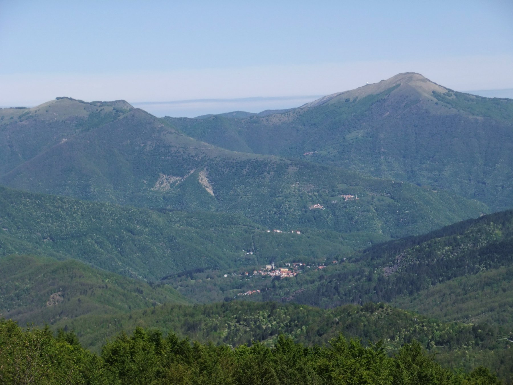 Panorama verso l' Alfeo