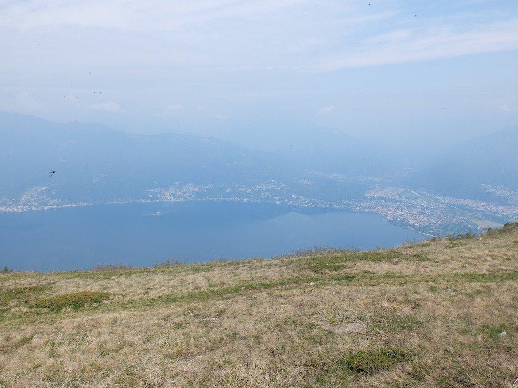 Lago maggiore dal monte paglione