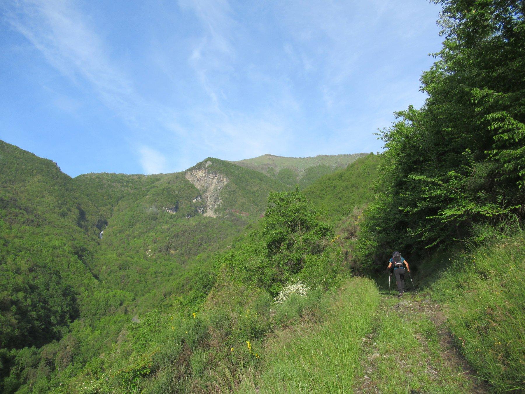 Il Monte Fronte' da sotto.
