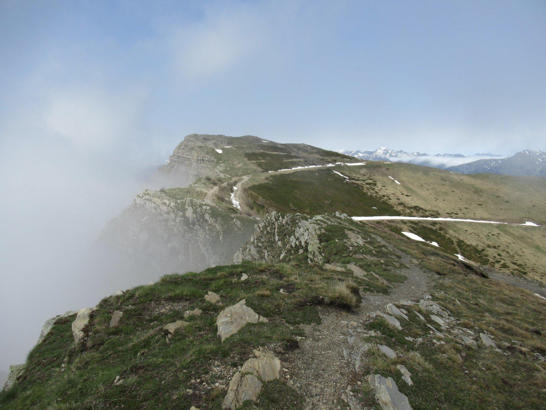 Monte Saccarello (m.2200) dal Redentore.