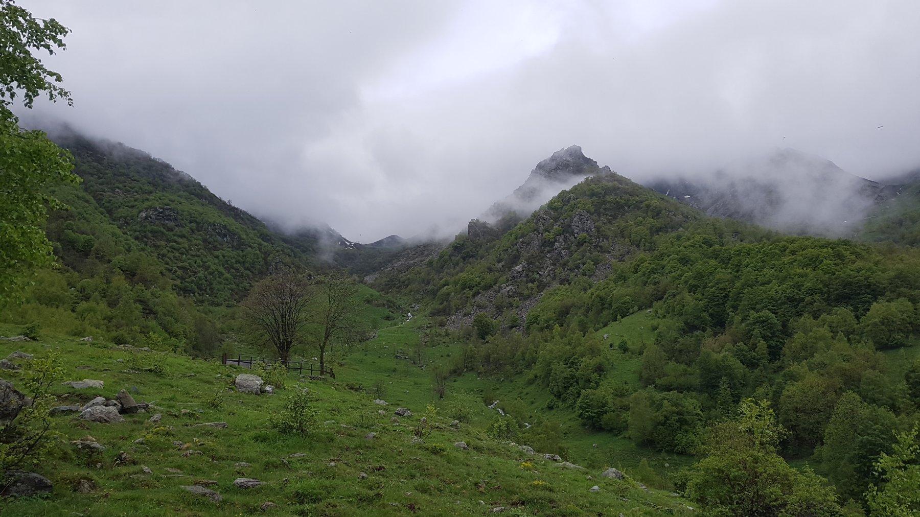 L'itinerario di salita dalla Valle di Viù