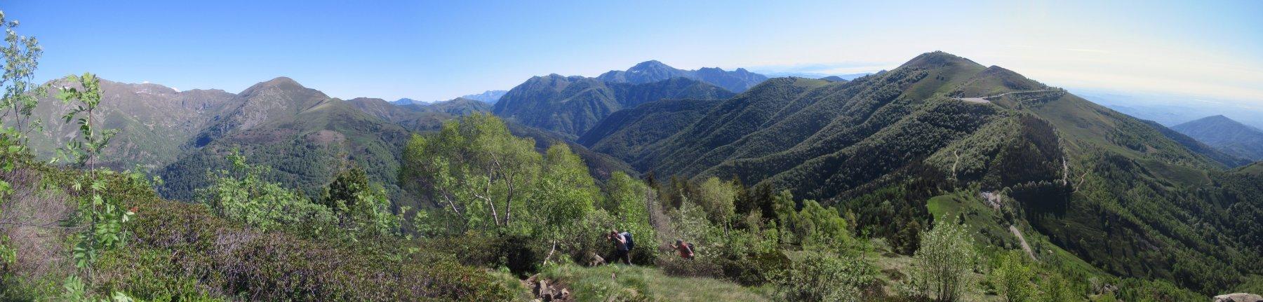 salendo al Monticchio