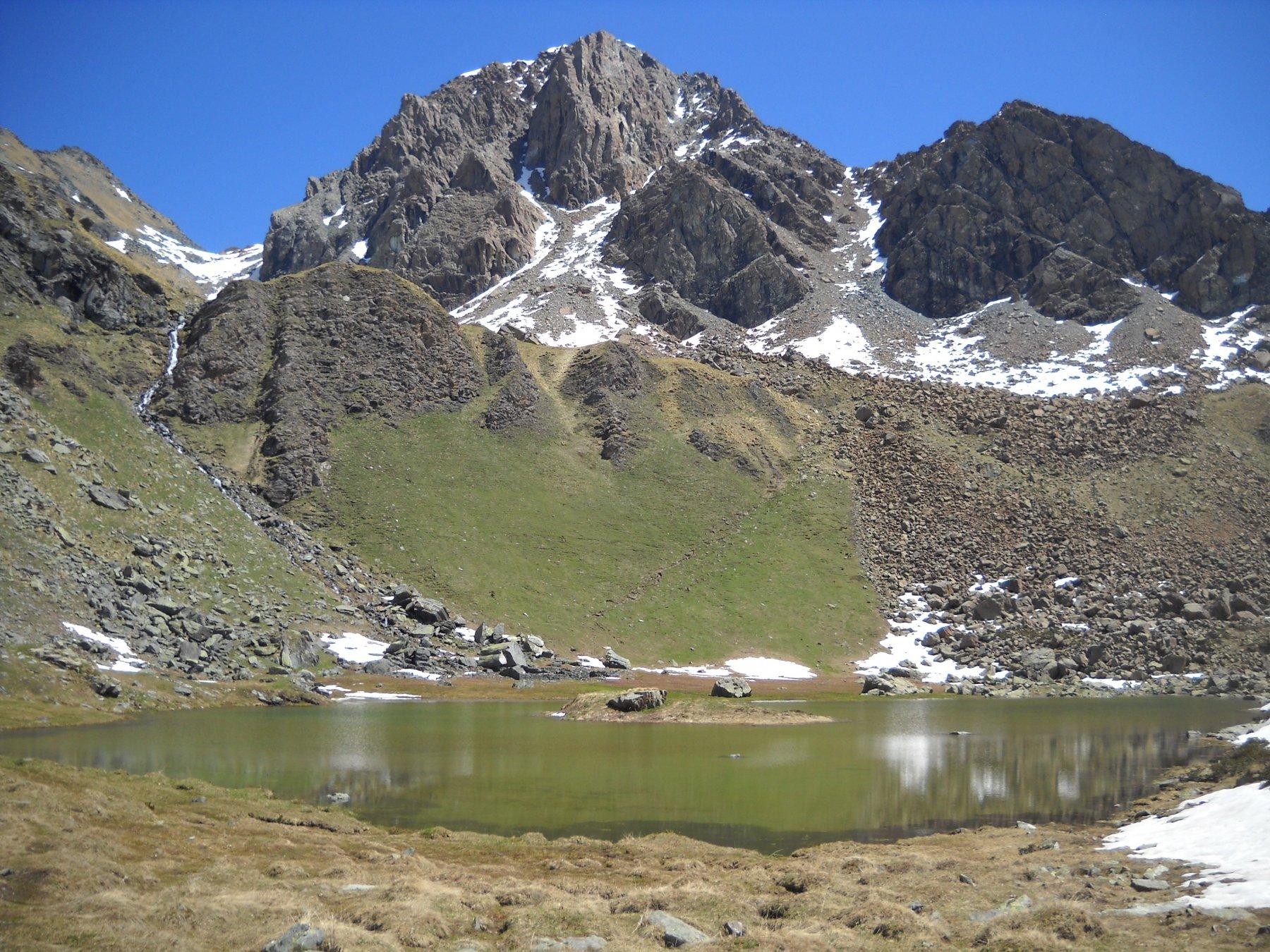 Lago Laus e Monte Cristaliera