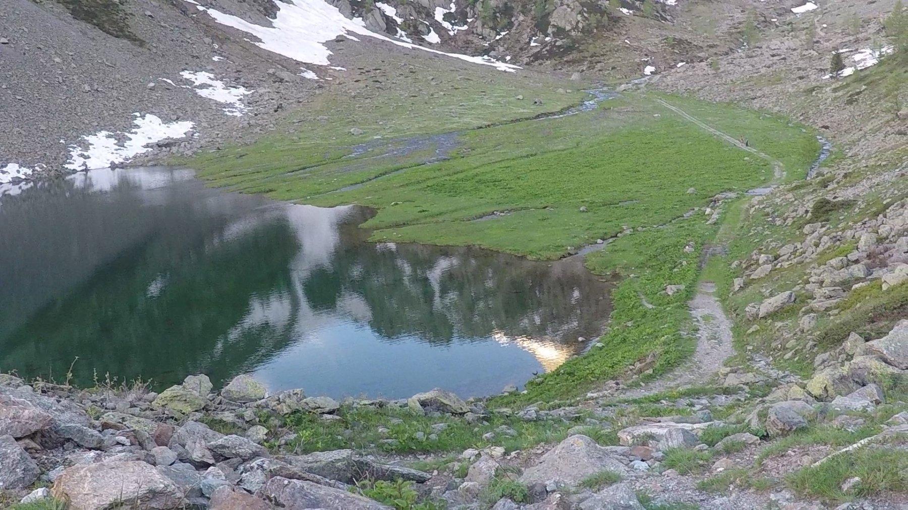 situazione al lago