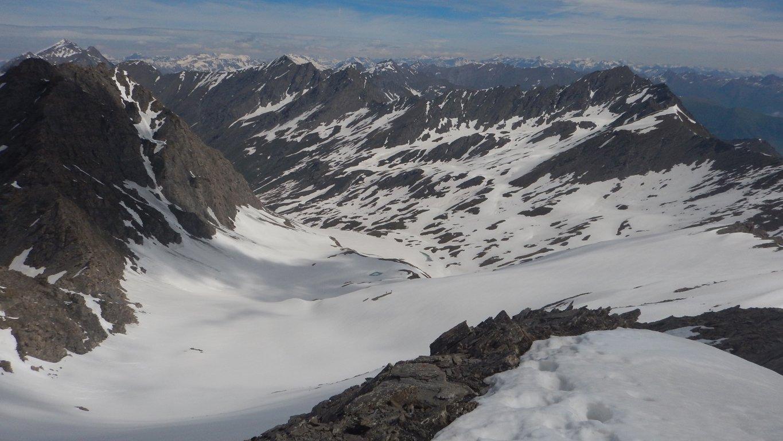 Valle Lunga dalla cima