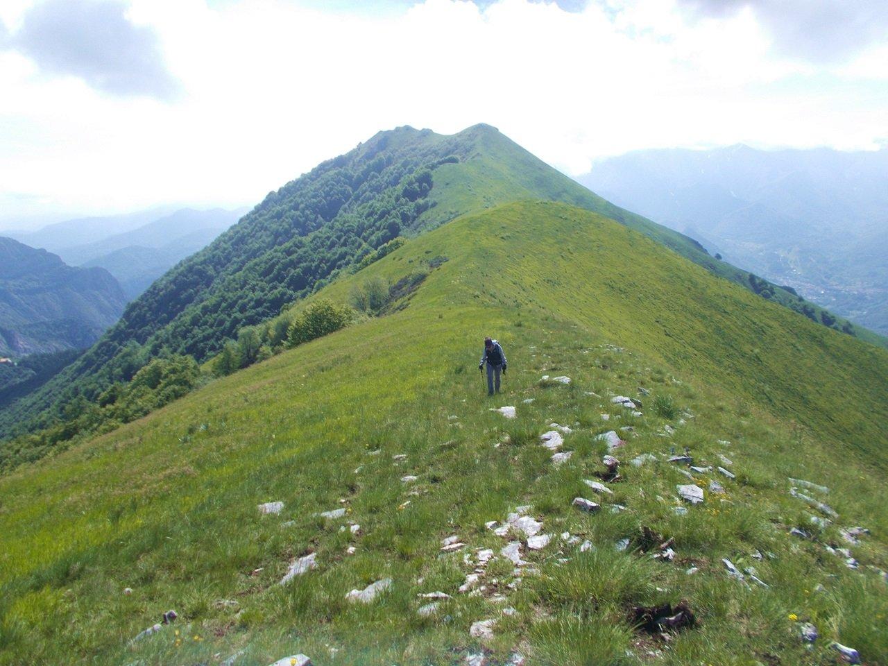Cialancia (Cima)da San Bernardo di Desertetto, anello per il Monte la Piastra 2020-05-24
