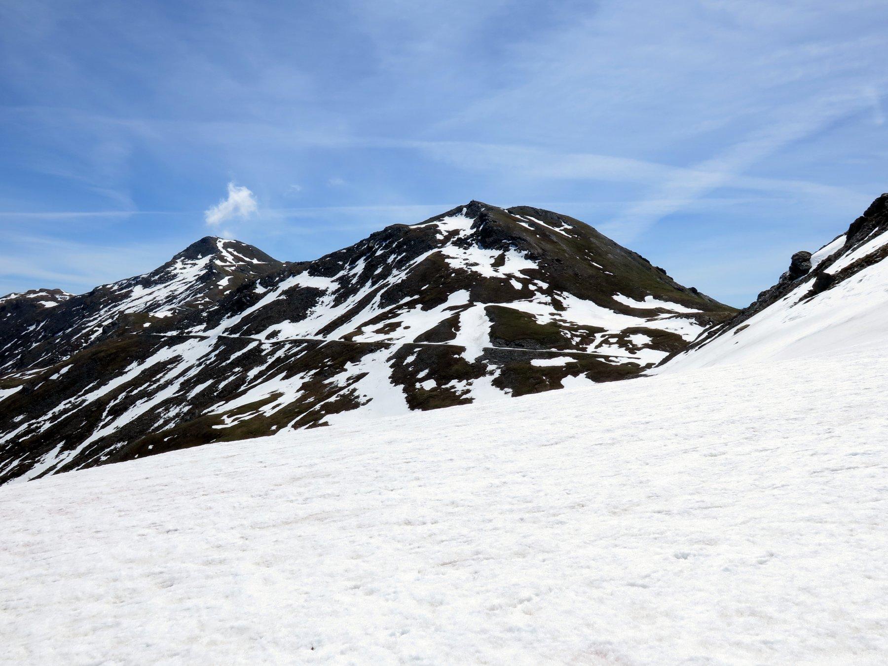 La neve che impedisce il passaggio verso Ciantiplagna