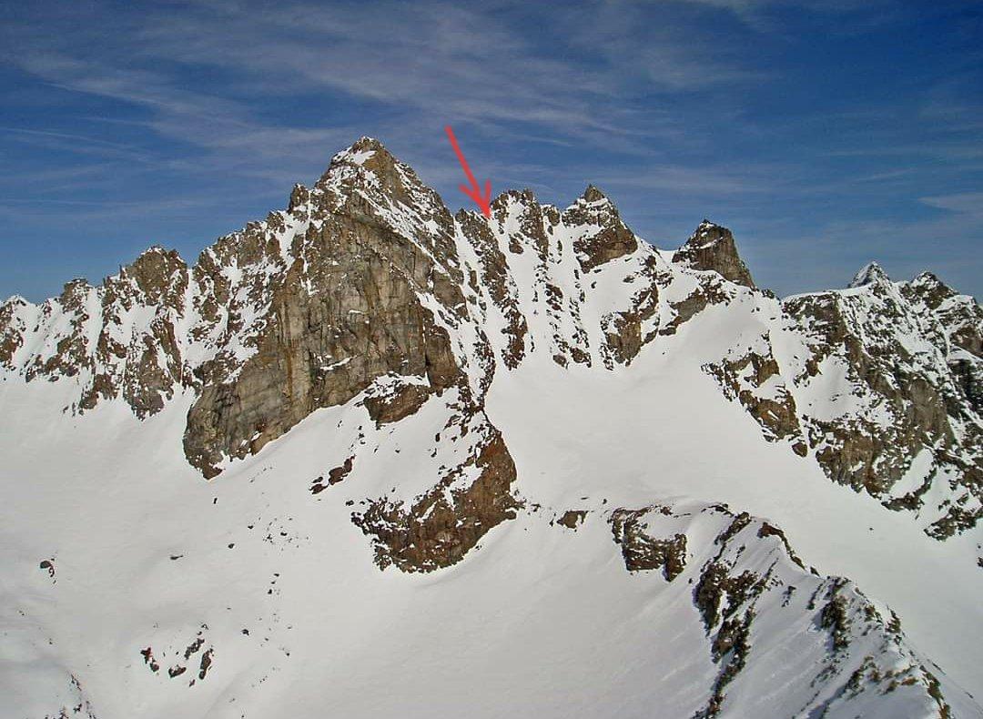Il canale fotografato dalla punta Ondezana (foto d'archivio)